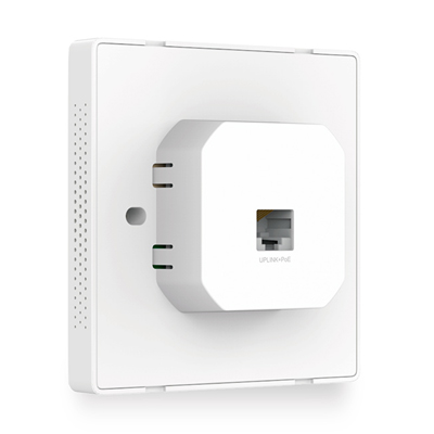 TP-Link EAP-115 (WALL) 300Mbps N Wall-Plate Access Point Back