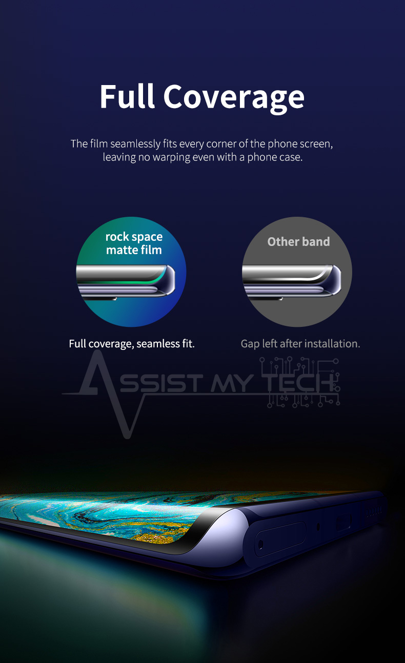 Full coverage screen protector